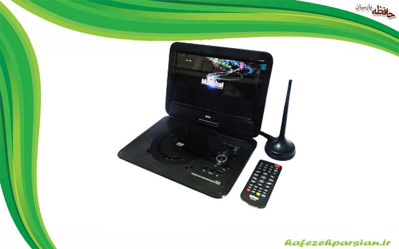 دی وی دی پلیر پرتابل مارشال با DVBT2 مارشال ME-510 سایز 10 اینچ